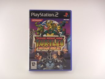 Playstation 2 / Ps2  --  Turtles Mutant Melee  --  PAL
