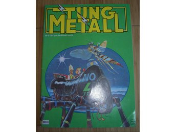TUNG METALL NR 6 1987 Fint skick