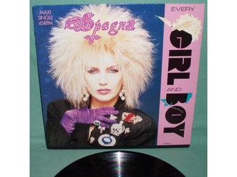 "SPAGNA - Every girl and boy , 12""MAXI 1988 ,"