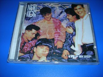 NKOTB - NEW KIDS ON THE BLOCK - step by step  (cd)