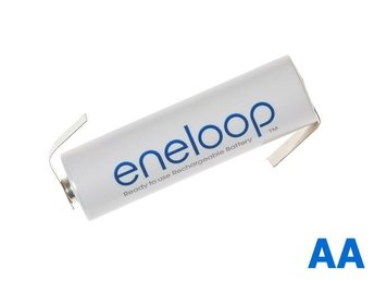 Panasonic Eneloop AA HR6 R6 battery with Z tabs NK003
