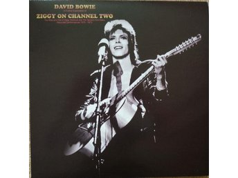 DAVID BOWIE - ZIGGY ON CHANNEL TWO. LP