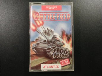 Battle-Field till Commodore 64 / 128 C64 C128 Atlantis - Torslanda - Battle-Field till Commodore 64 / 128 C64 C128 Atlantis - Torslanda