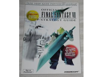 PlayStation 1/PS1: Final Fantasy VII 7 The Official Guide
