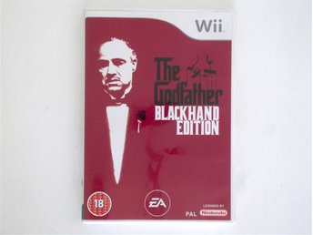 The Godfather Blackhand Edition - WII PAL - Gudfadern
