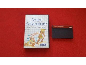 AZTEC ADVENTURE till Sega Master System - Blomstermåla - AZTEC ADVENTURE till Sega Master System - Blomstermåla