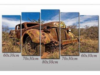 Jeep Auto Wreck Desert Oldtimer 150x80 - Dzialdowo - Jeep Auto Wreck Desert Oldtimer 150x80 - Dzialdowo