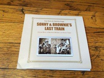 GUY DAVIS & FABRIZIO POGGI Sonny & Brownie's Last Train CD 2017 USA Import Blues - West Hollywood - GUY DAVIS & FABRIZIO POGGI Sonny & Brownie's Last Train CD 2017 USA Import Blues - West Hollywood