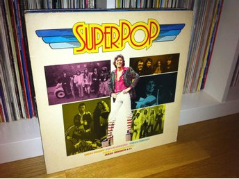 Superpop LP 1976 (Tears Peps Jerry Williams Grus i dojjan)
