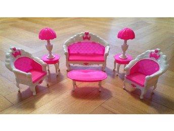 Barbie möbler - Soffmöblemang passande Barbie dockor - Nytt - Snabb leverans! - Hässleholm - Barbie möbler - Soffmöblemang passande Barbie dockor - Nytt - Snabb leverans! - Hässleholm