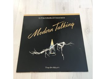 MODERN TALKING - THE 4TH ALBUM, IN THE MIDDLE OF NOWHERE. (MVG LP)