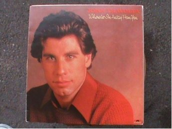 John Travolta - Whenever i´m way from you (1977) - Lp