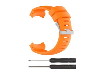 Suunto Core Alu Black Stilrent klockband - Orange