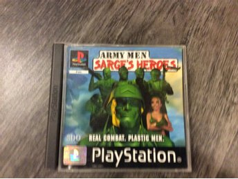 Army men sarge´s heroes Playstation 1
