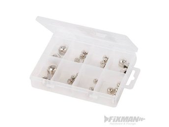 40pce  Domehead Nuts Pack M4 M12