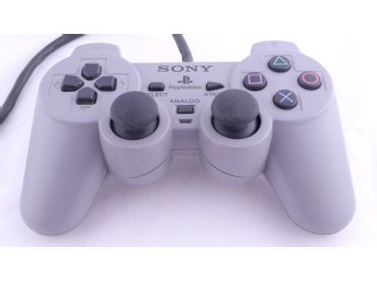 Playstation 1 Controller DualShock (Grey) -  - PAL (EU)