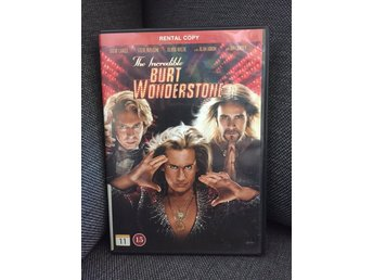 DVD The Incredible Burt Wonderstone (Steve Carell Steve Buscemi Jim Carrey)