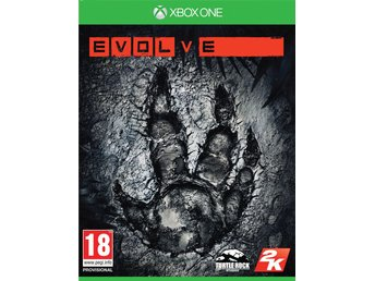 Evolve (Inkl. Monster Expansionen Pack) - Helt nytt till Xbox One!!! REA