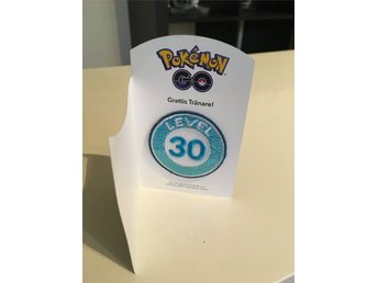 Pokemon Go - LEVEL 30 - Märke i tyg