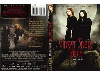 Ginger Snaps Back, The Beginning.. Skräck.. Ny/Inplastad..