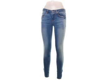 Perfect Jeans Gina Tricot, Jeans, Strl: 28/32, Kristen, Blå