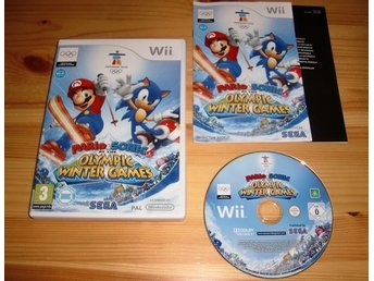Wii: Mario & Sonic at the Olympic Winter Games