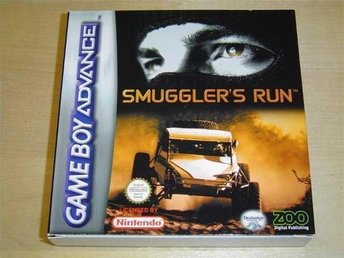 SMUGGLERS RUN NINTENDO GAMEBOY ADVANCE *NYTT*