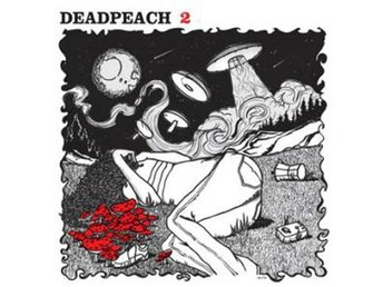 Deadpeach - 2 (red vinyl) - LP NY - FRI FRAKT