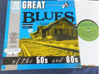 V/A - 20 Great Blues Recordings of the 50s and 60s, LP Cascade/ACE 1983 UK - Gävle - V/A - 20 Great Blues Recordings of the 50s and 60s, LP Cascade/ACE 1983 UK - Gävle