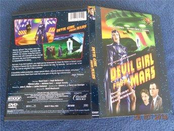 DEVIL GIRL FROM MARS (1955) DVD REGION 1 USA Djävulsflickan från Mars - Gävle - DEVIL GIRL FROM MARS (1955) DVD REGION 1 USA Djävulsflickan från Mars - Gävle
