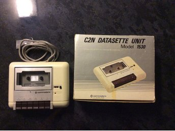 Commodore Datasette Unit - Model 1530 i orginalkartong