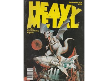 HEAVY METAL ADULT FANTASY MAGAZINE DECEMBER 1978