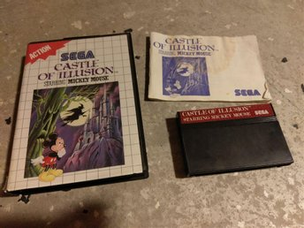 Castle of Illusion . Mickey Mouse - Sega Master System