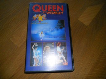 VHS med Queen at Wembley