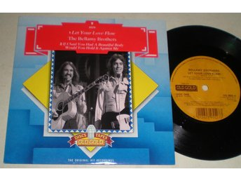 Bellamy Brothers 45/PS Let your love flow 1978 M-