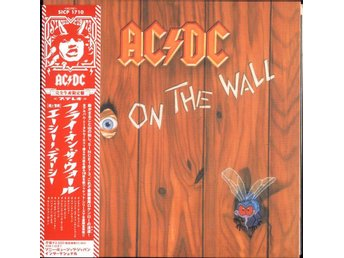 AC/DC - FLY ON THE WALL (mini-LP replica CD)