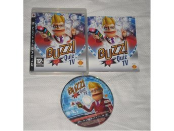 PlayStation 3/PS3: Buzz: Quiz TV (svenskt tal, kräver Buzzers)
