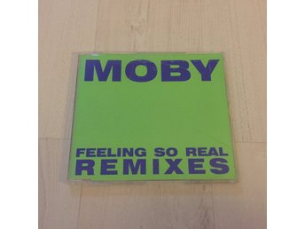 MOBY - FEELING SO REAL REMIXES. (CD SINGEL)
