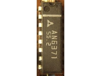 IC-KRETS AN6371 VCR COLOR PROCESSING /PAL-NTSC 12VCC - ORIGINAL AN6371