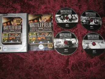 BATTLEFIELD 1942 WORLD WAR 2 ANTHOLOGY (PC CD-ROM) KOMPLETT
