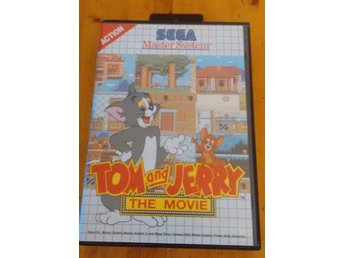 Sega Master System Tom and Jerrry The Movie Komplett