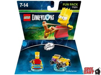 Lego Dimensions The Simpsons Bart Fun Pack 71211