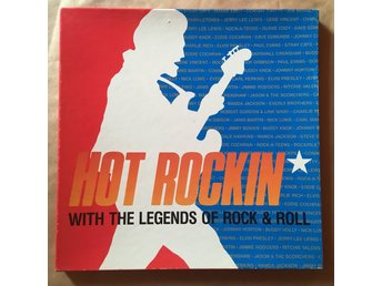 3 LP Box - hot rockin' with the legends of Rock & Roll