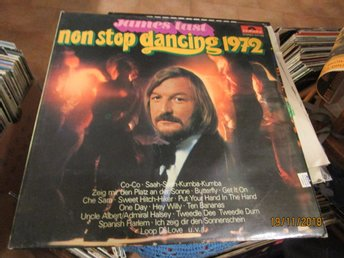 JAMES LAST - NON STOP DANCING 1972 - LP