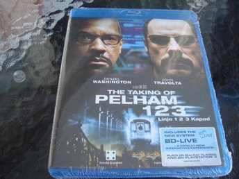 THE TAKING OF PELHAM 123 LINJE 123 KAPAD *Denzel Washington, John Travolta*