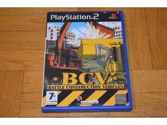 BCV Battle Construction Vehicles Playstation 2 PS2