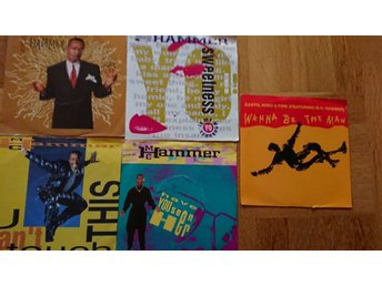 DJ:s Vinylsinglar, 5 x M.C. Hammer (plus 1 med Earth, Wind & Fire)