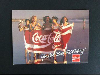 COCA-COLA - YOU CAN'T BEAT THE FEELING!