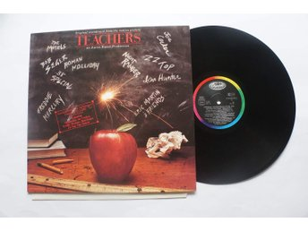 "** Soundtrack From The Motion Picture ""Teachers"" - ZZ Top - Freddie Mercury **"