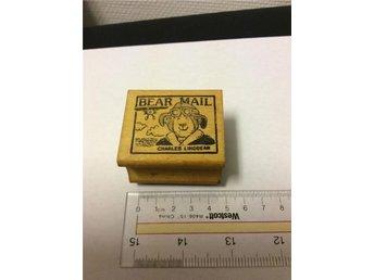 Bear Mail stämpel från All Night Media - Rimbo - Bear Mail stämpel från All Night Media - Rimbo